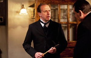 Joseph Molesley and  John Bates in Downton Abbey